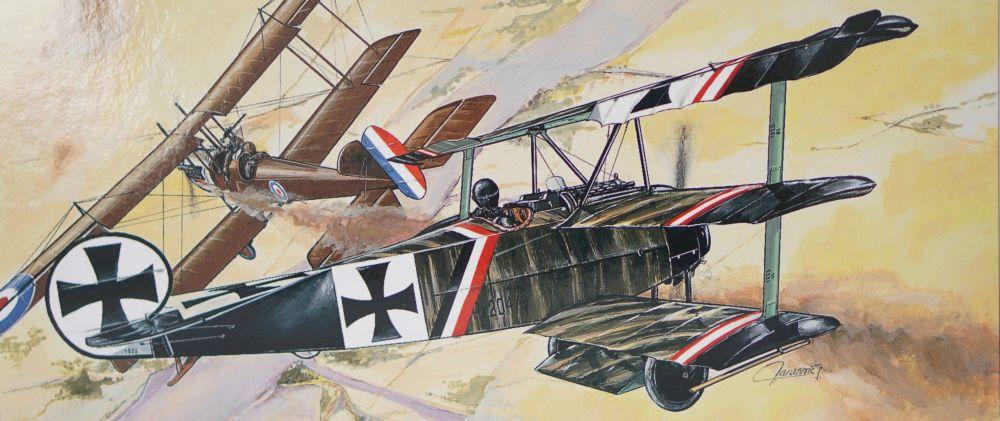 Směr - Modely Fokker Dr 1 1:48
