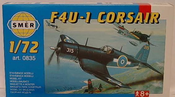 Směr - Modely Chance Vought F4U-1 Corsair 1:72
