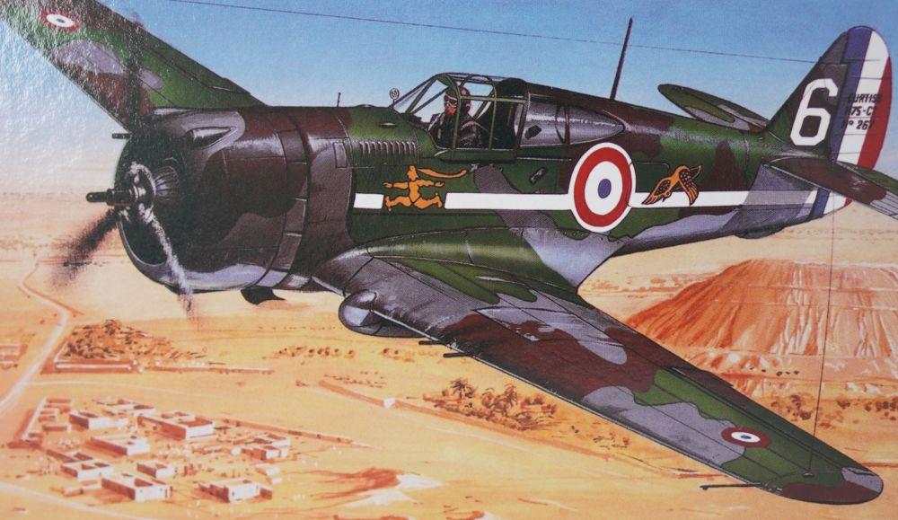 Směr - Modely Curtiss P-36/H.75 Hawk 1:72