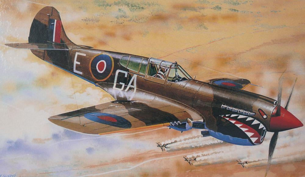 Směr - Modely Curtiss P - 40K 1:72