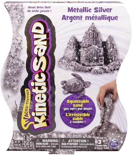 Kinetic Sand - Metalický piesok 454 g