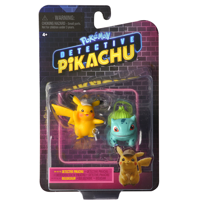 Pokémon figúrky detektív Pikachu