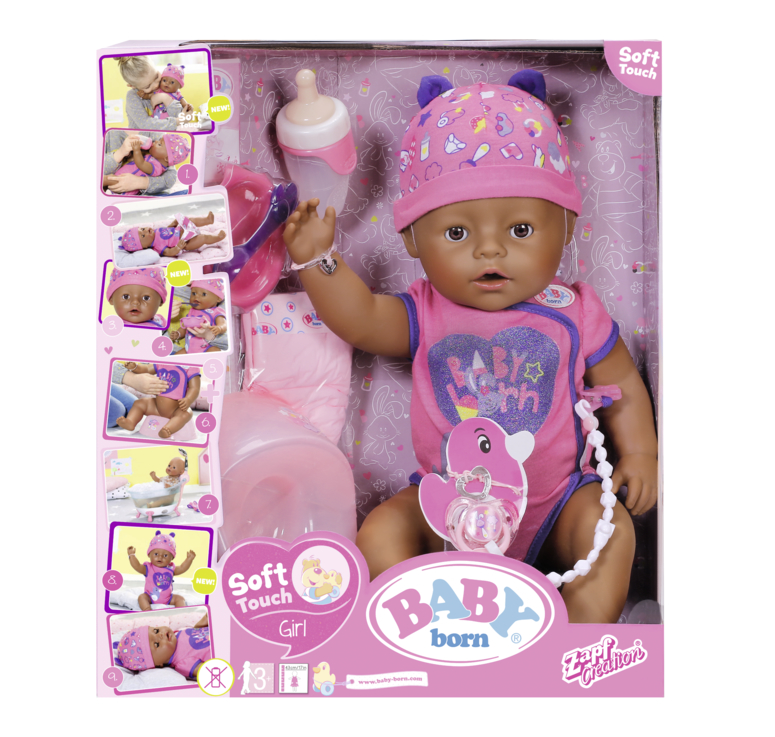 "BABY born®, černoško Soft touch"", 43 cm"