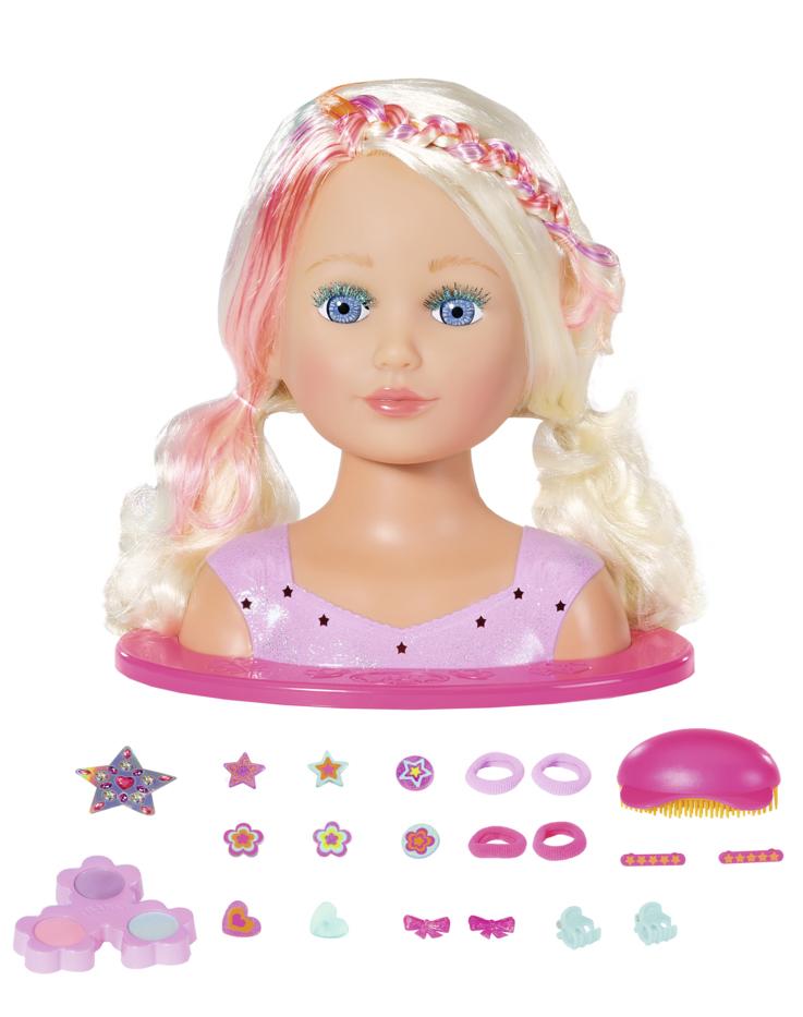 Staršie sestrička BABY born Česacia hlava s farebnými kriedami