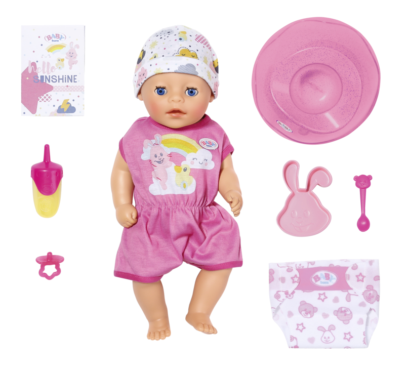 BABY born Soft Touch Little dievčatko, 36 cm