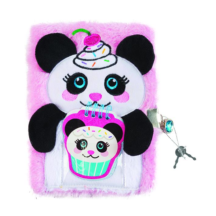 Make it Real Tajný denník chlpatý - Panda
