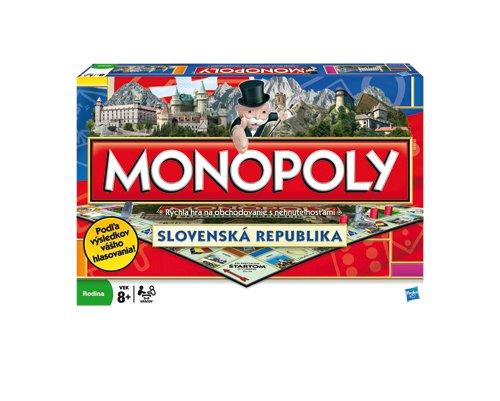 Hasbro Monopoly Národná edícia