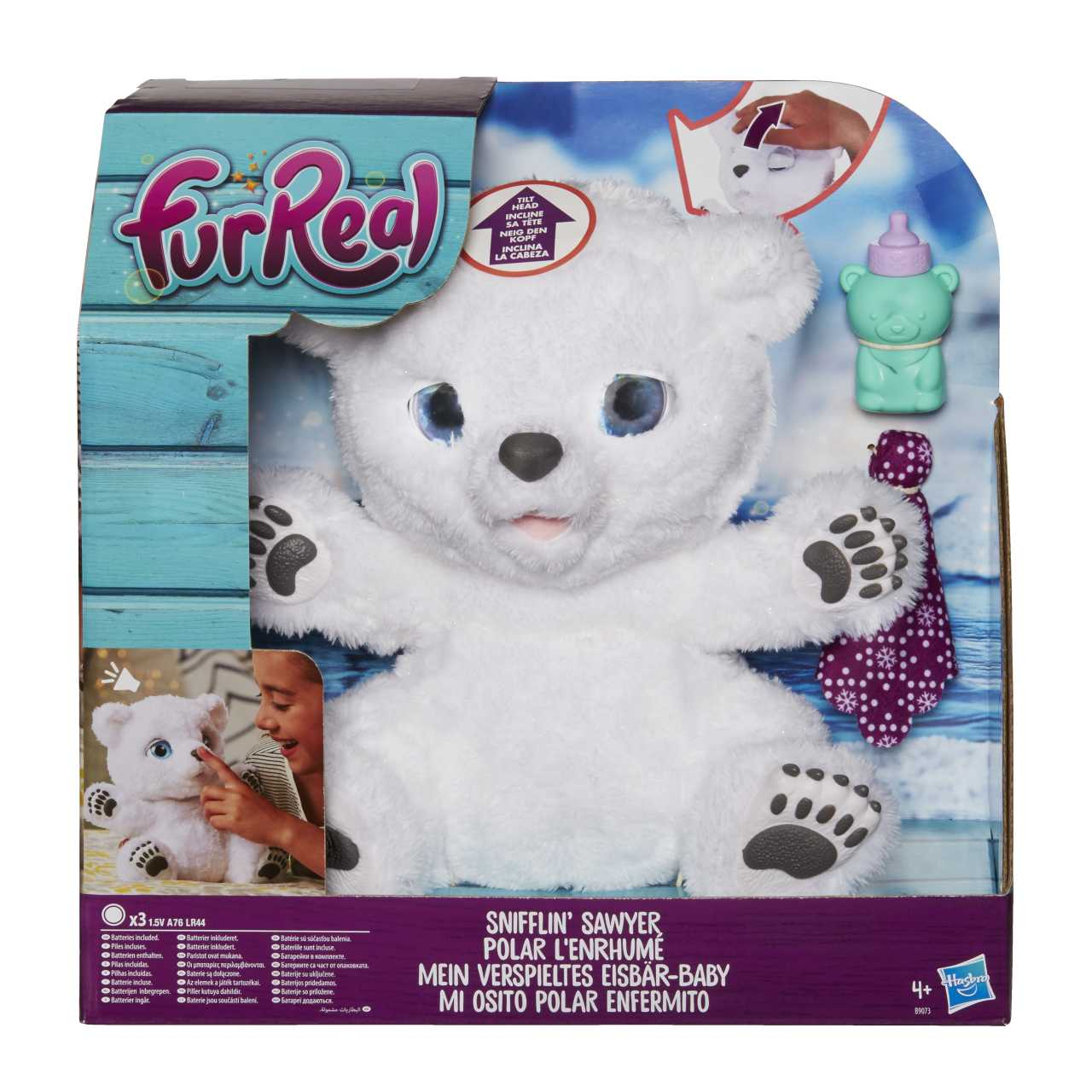 FurReal Friends Ľadový medveď