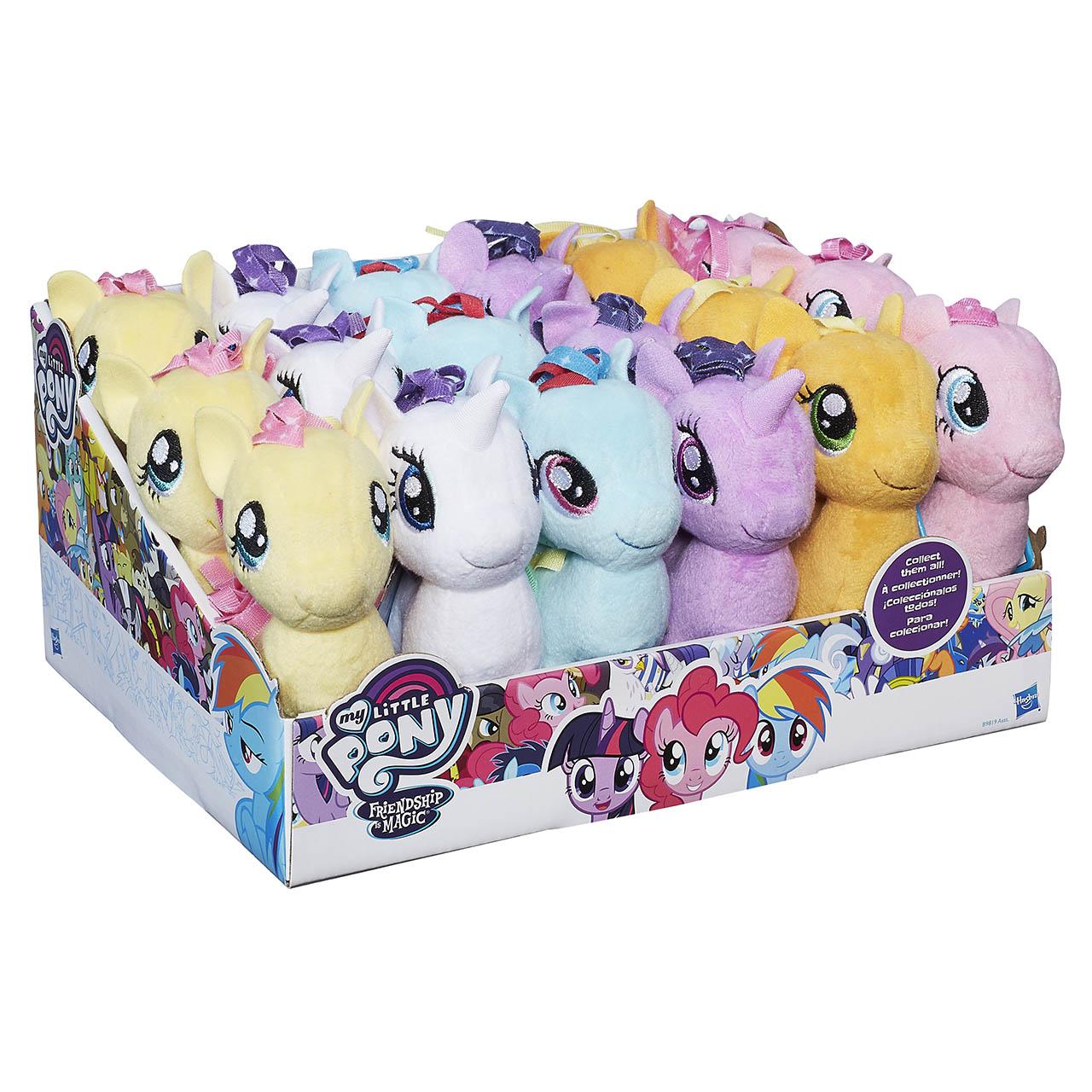 """My Little Pony 12 cm plyšový poník """"s potlačou hrivy"""" asst"""