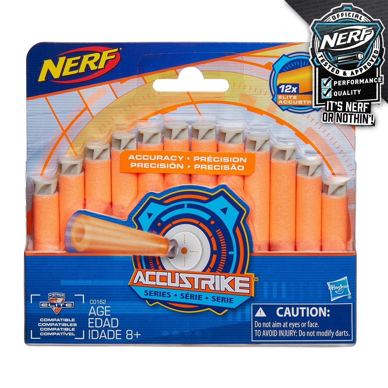 Nerf Accustrike šípky 12 ks