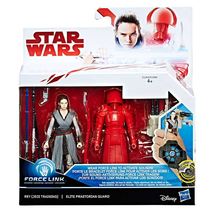 "SW E8 Dvě deluxe figurky 9,5 cm ""Force Link"" asst"
