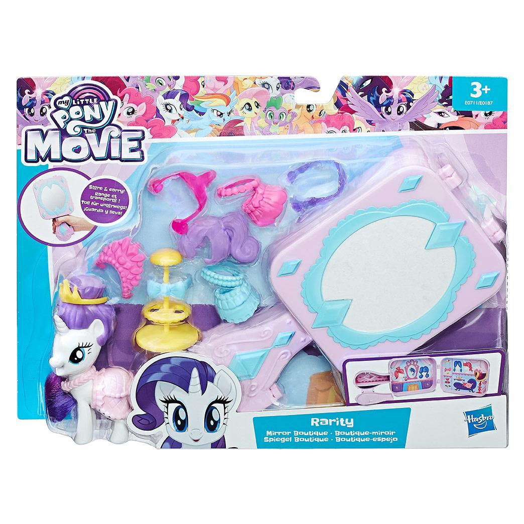 MLP Pony priatelia hracie set (zatvárací)
