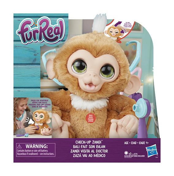 FurReal Friends Chorá Opička