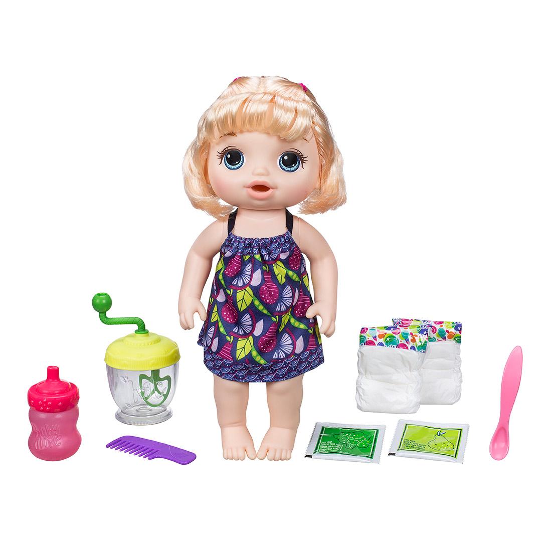 BA Blonďavá bábika s mixérom