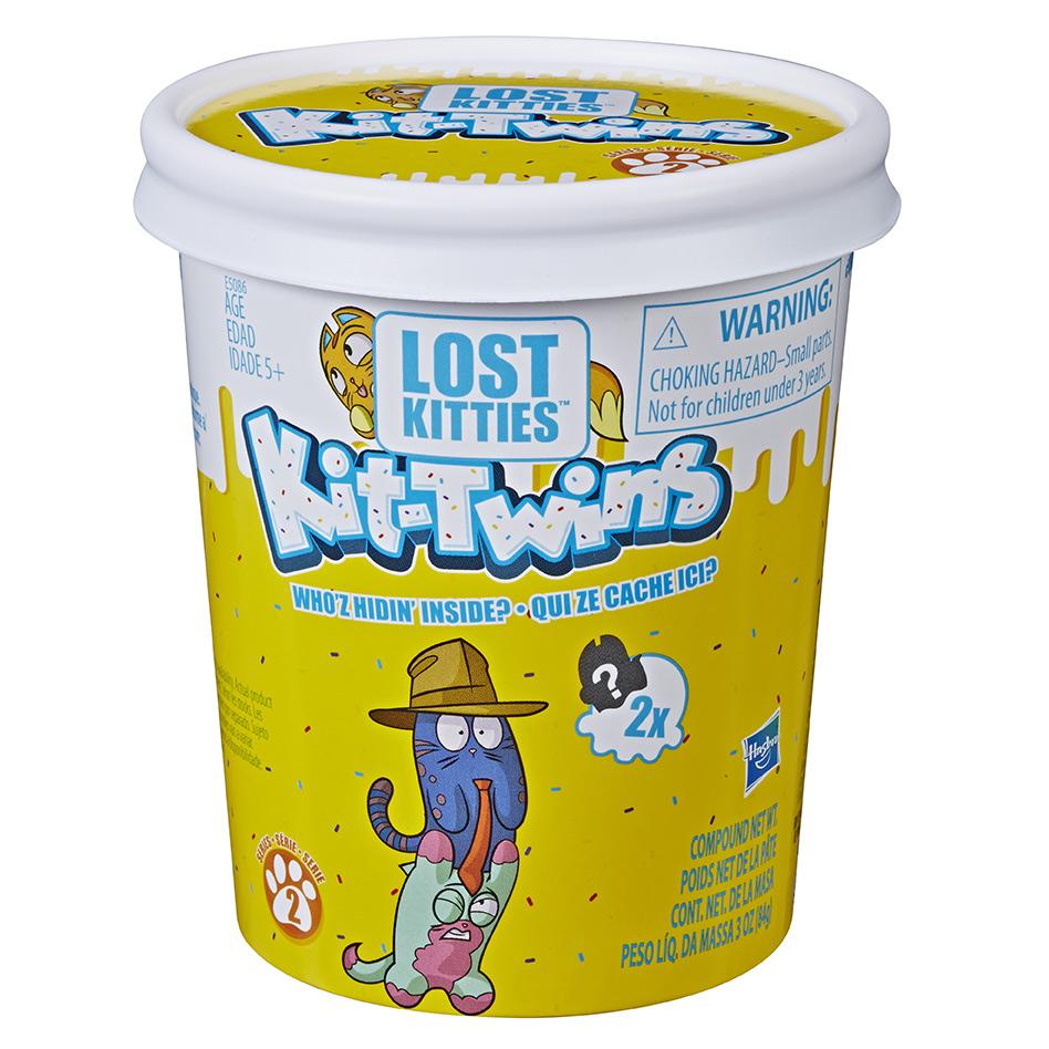 Lost Kitties Box prekvapenie Kit Twins