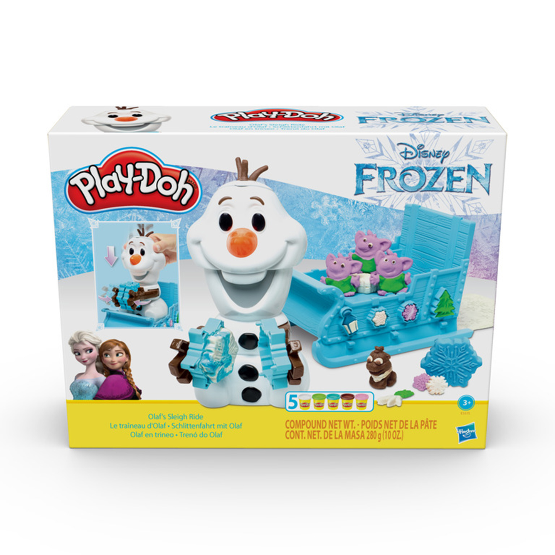 Play-Doh Olaf a snehové kreácie