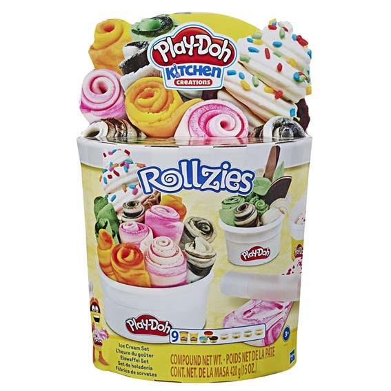 Play-Doh Set rolovanej zmrzliny