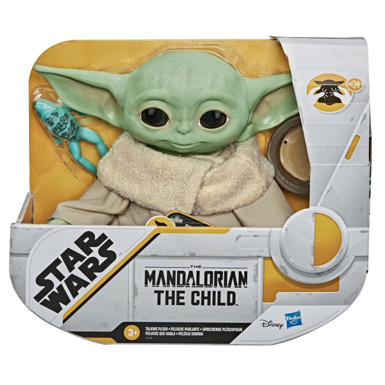 Baby Yoda hovoriaci plyš