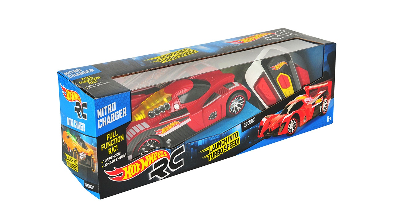 Hot Wheels Nitro Charger R / C