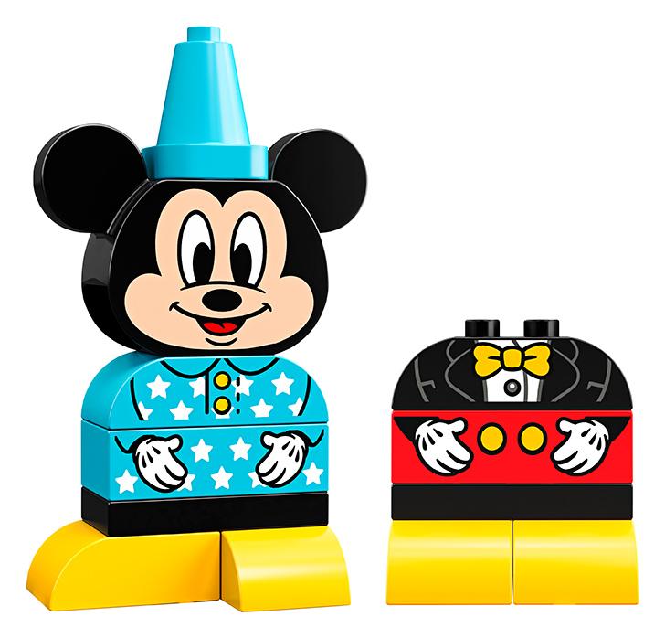 Moja prvá stavebnica Mickeyho