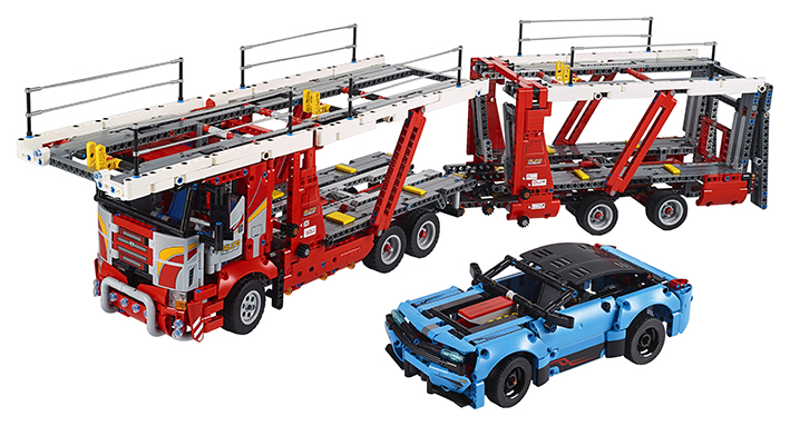 Kamión na prepravu automobilov