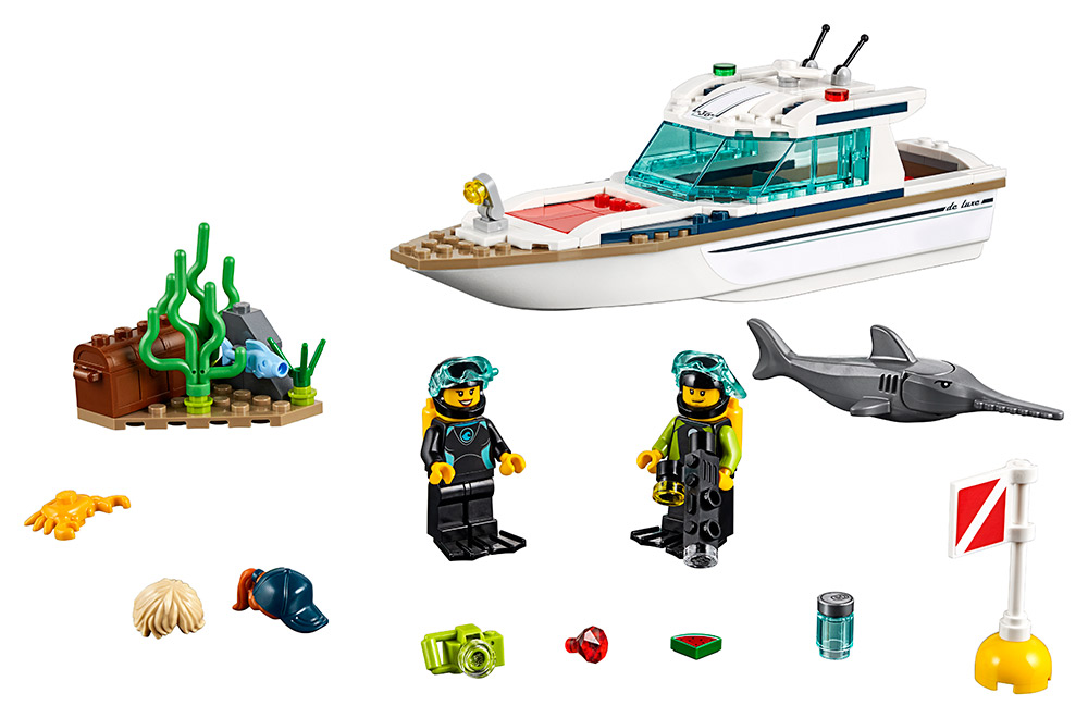 Potápačská jachta