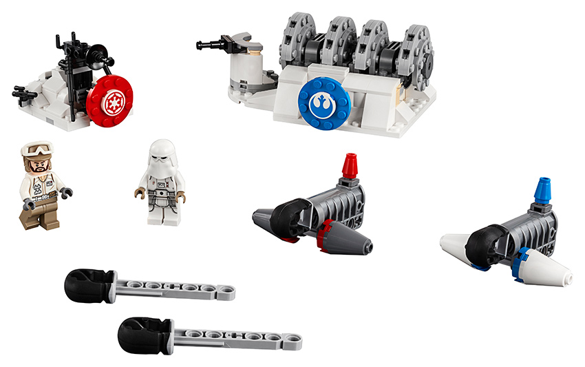 Útok na štítový generátor na planéte Hoth™