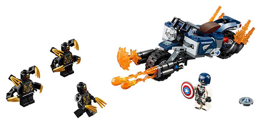 Captain America: Útok Outriderov