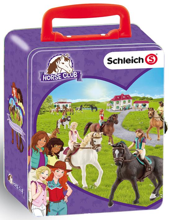 Zberateľský kufrík SCHLEICH kone