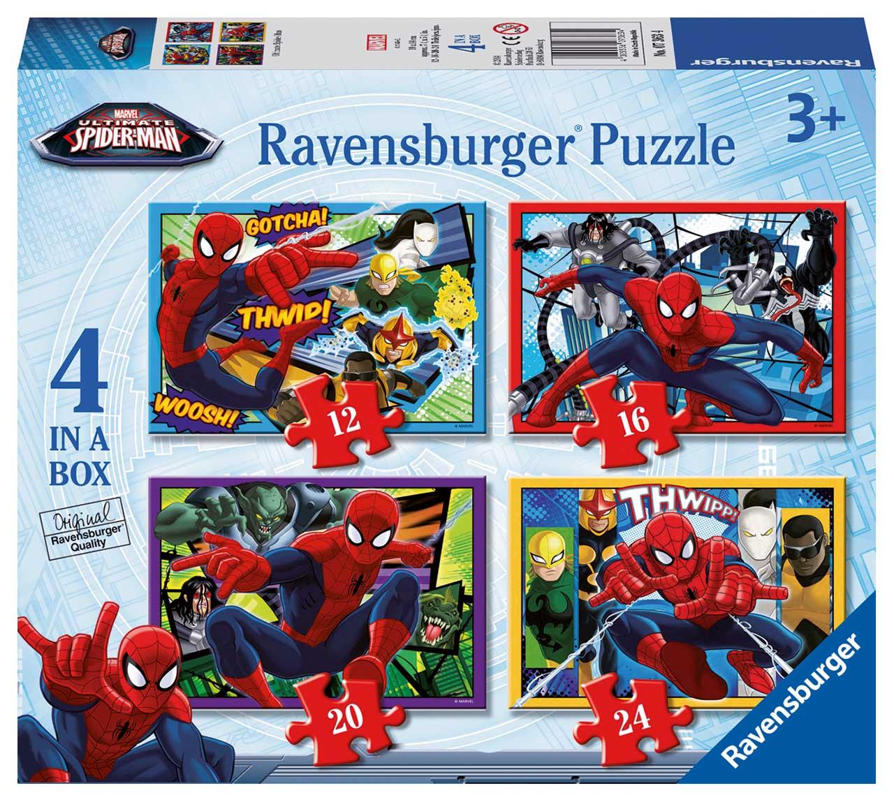 Disney Spider-man 12/16/20/24 dielikov