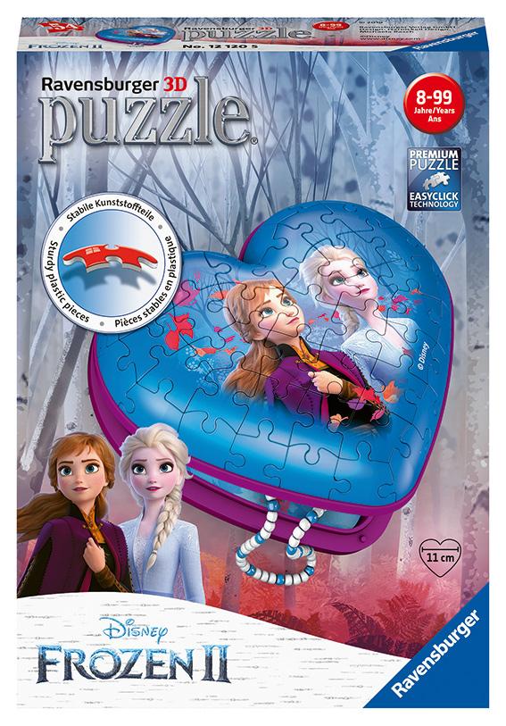 Srdce Frozen 2 54 dielikov