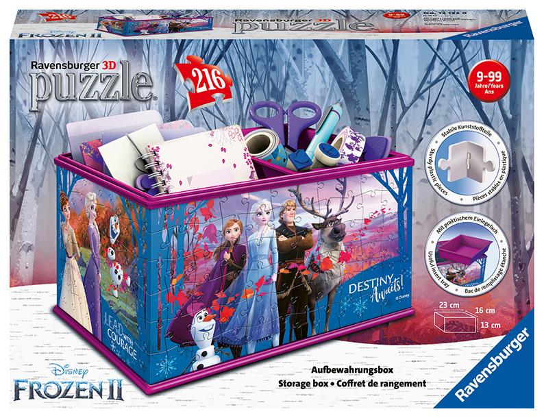 Úložná krabica Frozen 216 dielikov
