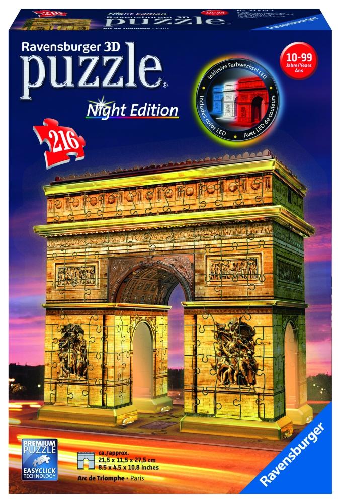 Víťazný oblúk (Nočná edície); 3D, 216 dielikov