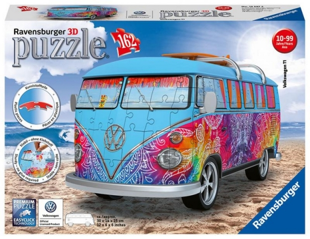 VW Bus T1 Indiánske leto 162 dielikov 3D