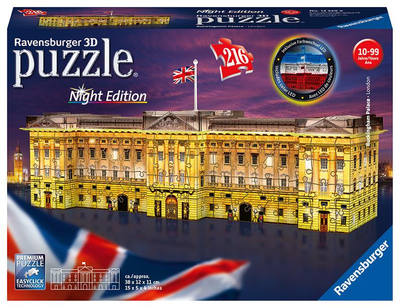 Buckinghamský palác (Nočná edícia) 216 dielikov