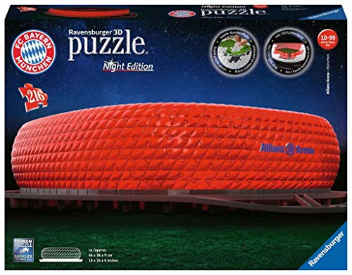 Allianz Arena (Nočná edícia) 216 dielikov