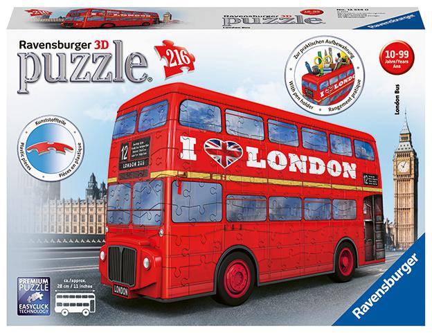 Londýnsky autobus 216 dielikov