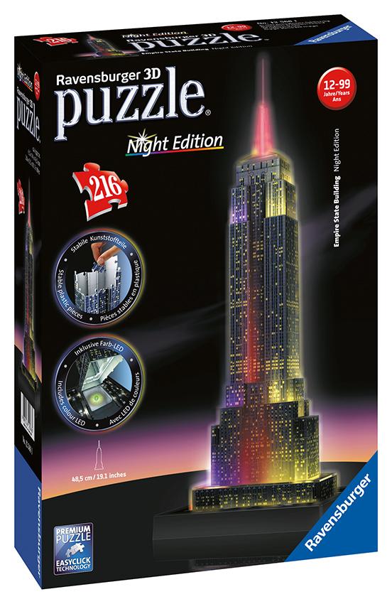 Empire State Building-svietiaci 3D 216d