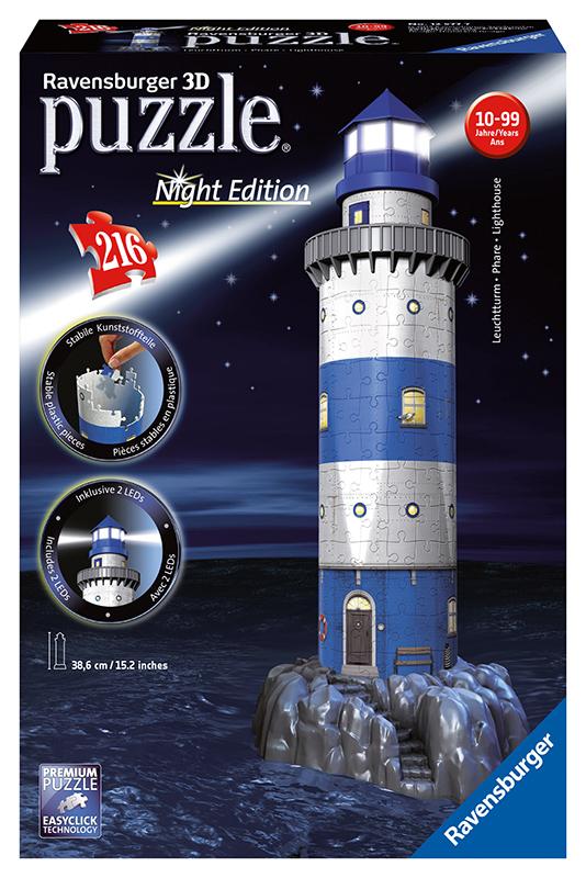 Maják v príboji  (Nočná edícia) 3D 216d