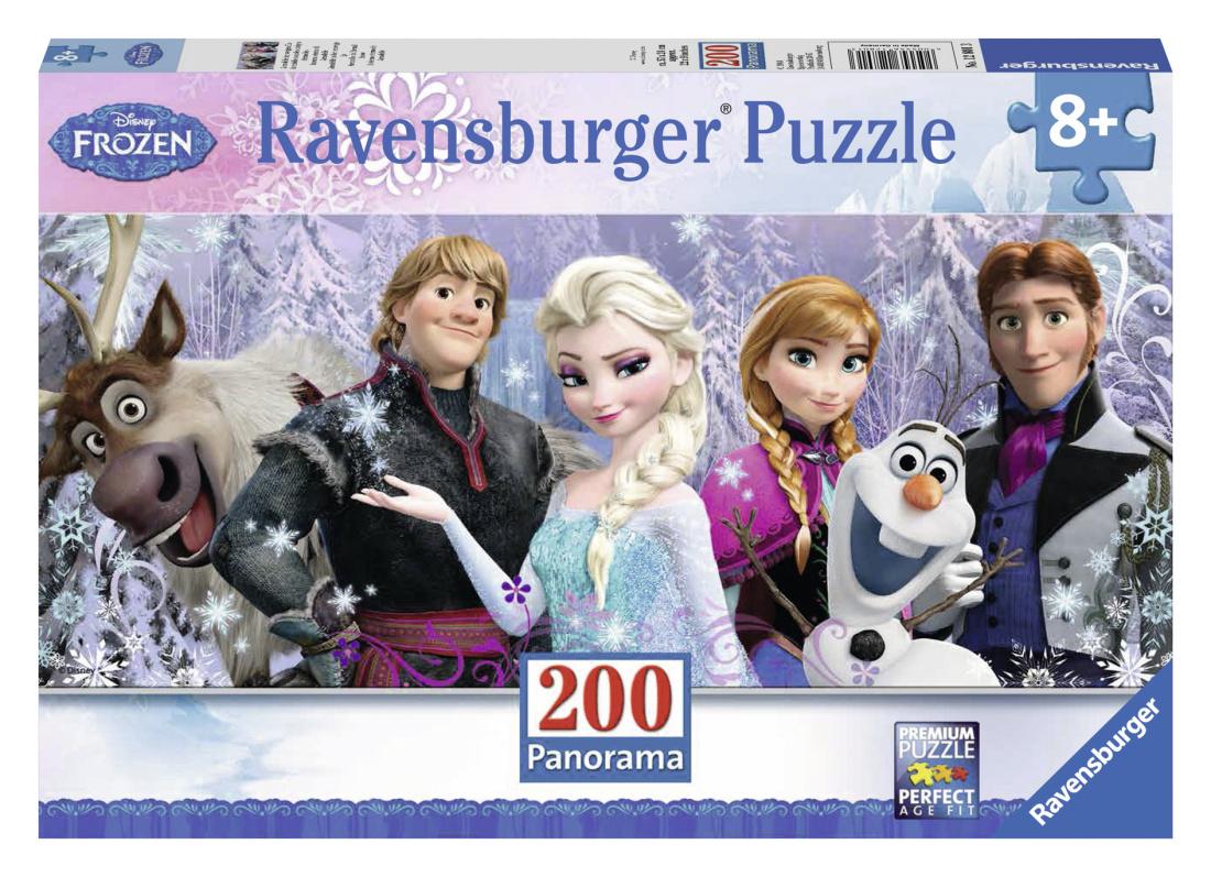Ľadové kráľovstvo panoráma 200d
