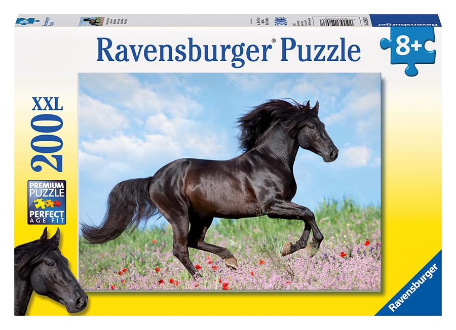 Čierny žrebec; 200 dielikov