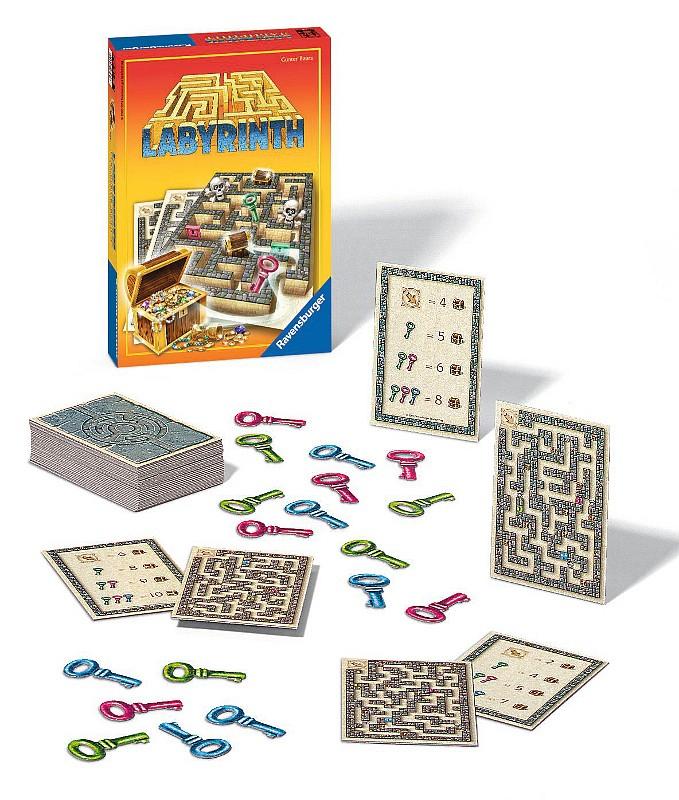 Labyrint Honba za pokladom hra