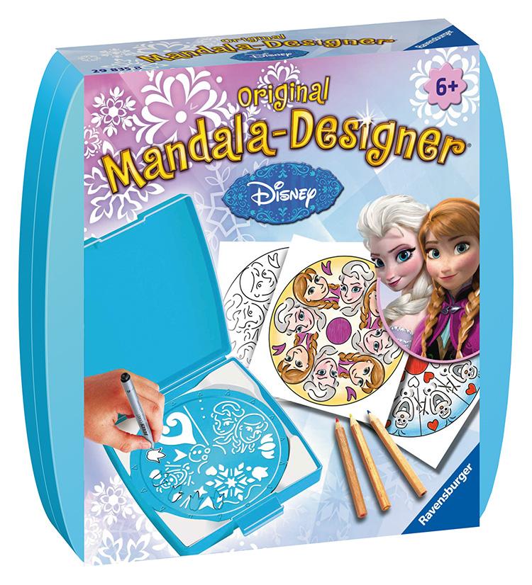 Mini Mandala Disney L´adové král´ovstvo