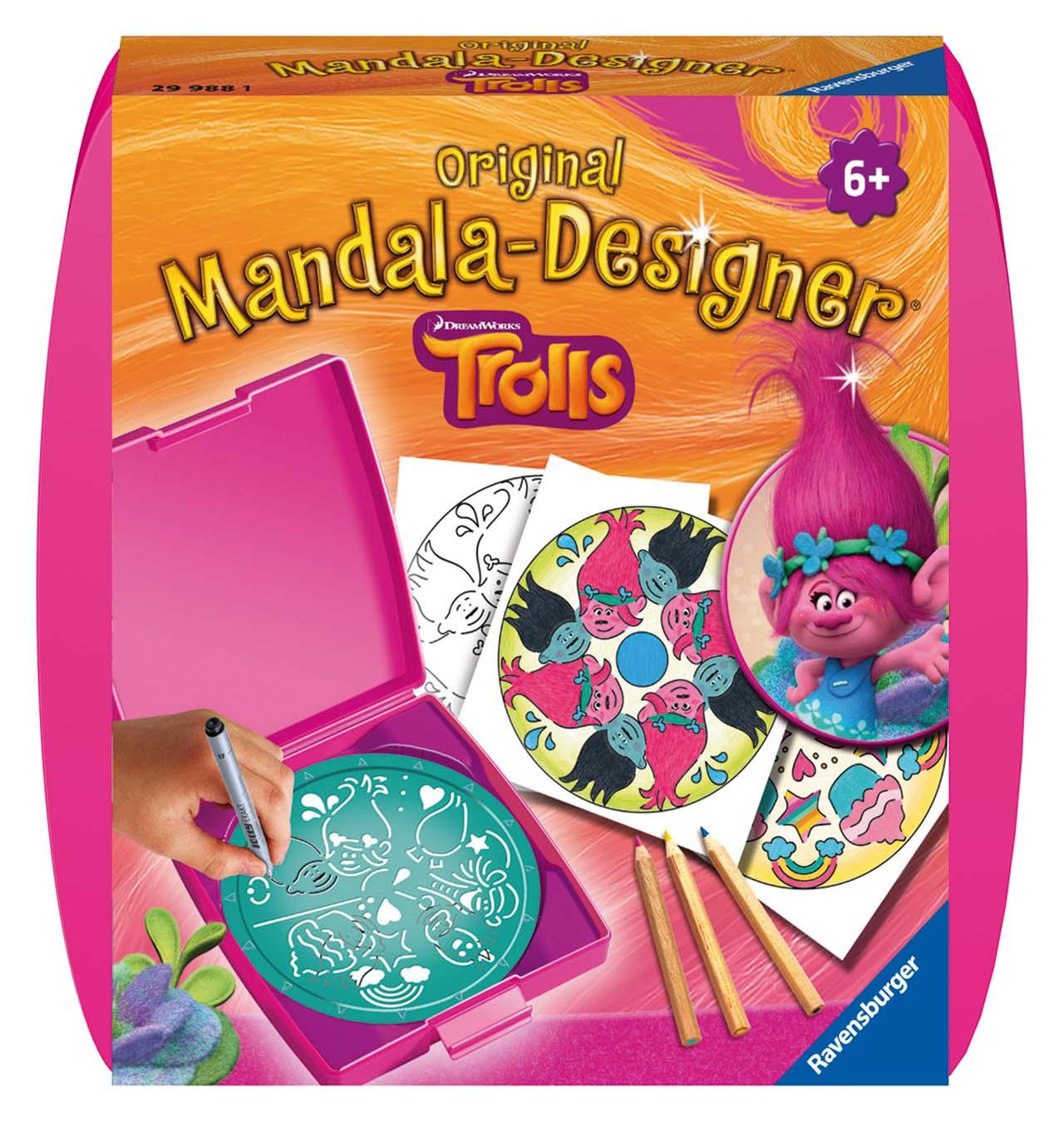 Trollovia malá Mandala