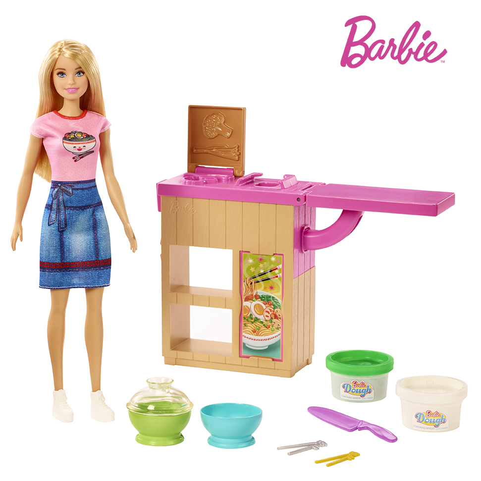 Barbie a ázijská reštaurácia