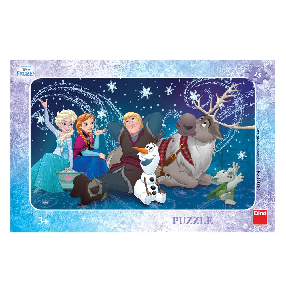 WD Frozen: Snehové Vločky 15D