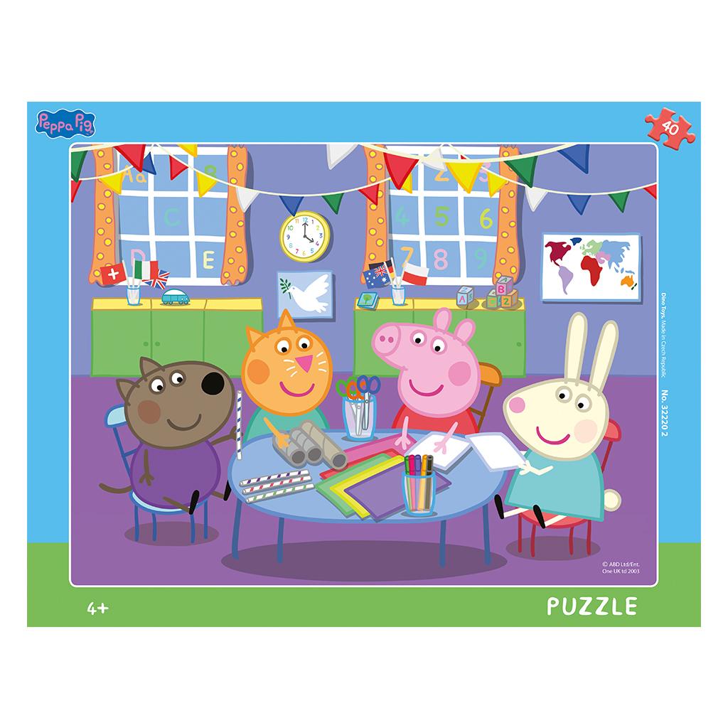Peppa Pig: V škôlke 40D doskové