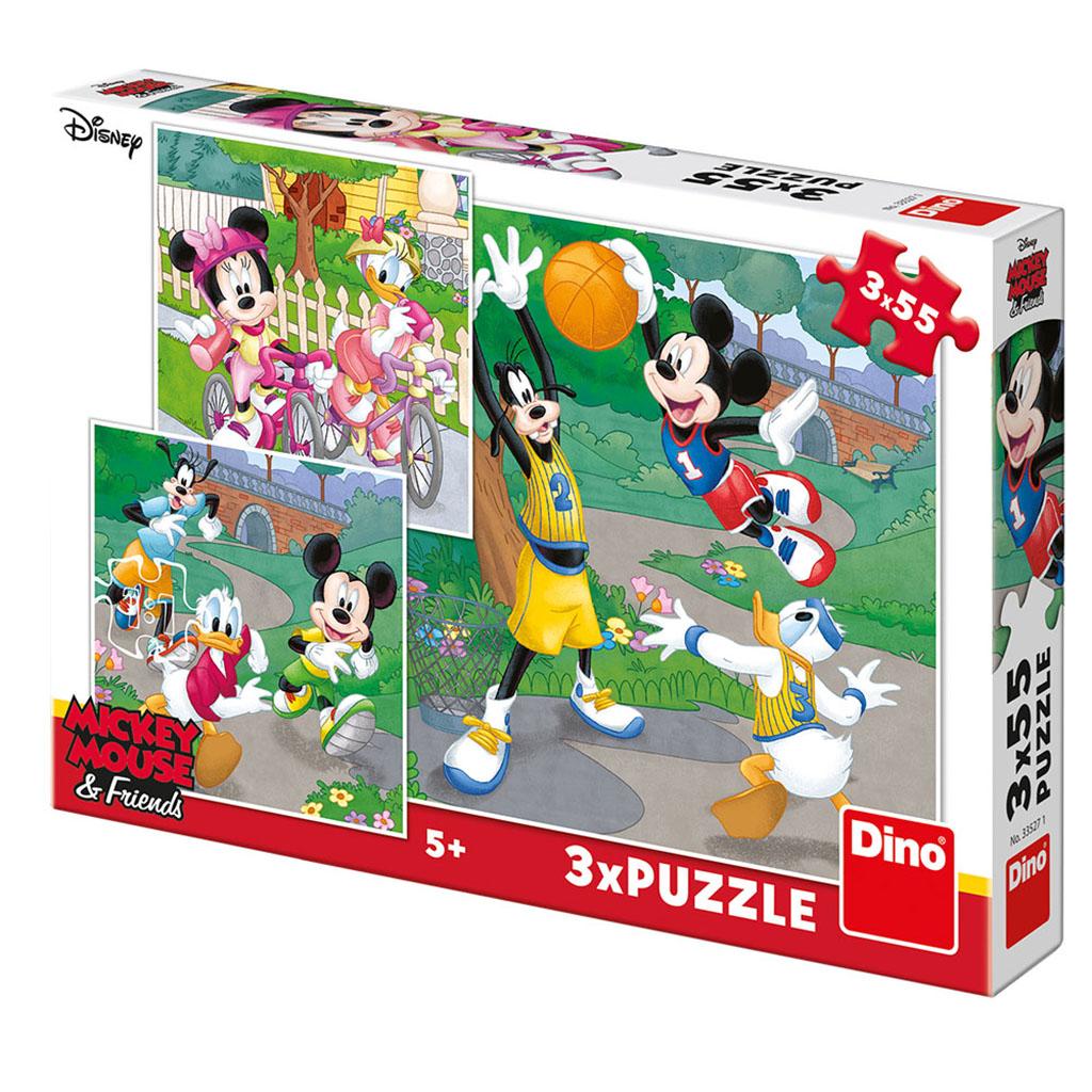 WD Mickey a Minnie sportovci 3x55D