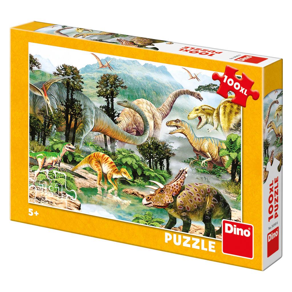 Život dinosaurov 100DXL