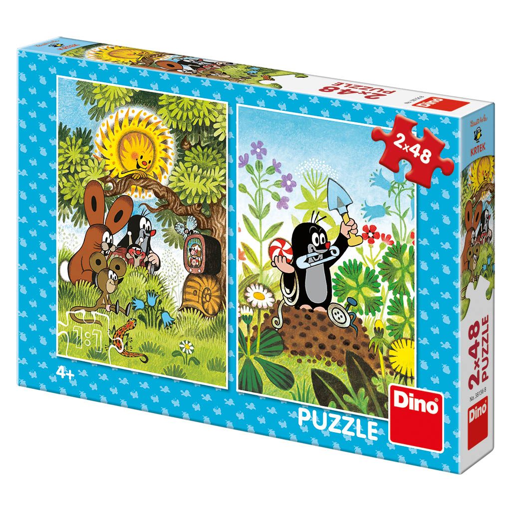 KRTKO 2x48 Puzzle NOVÉ